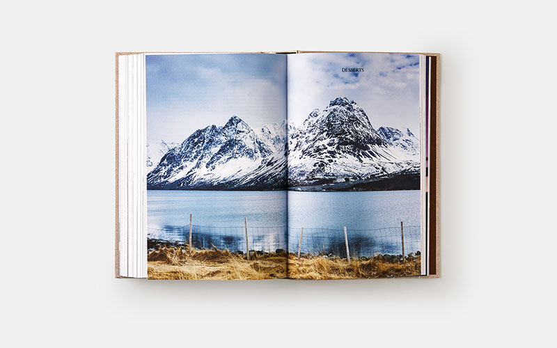 The Nordic Baking Book, Magnus Nilsson, Phaidon; Desserts chapter opener, Fjord, Norway, spring 2013 (pages 484-485)