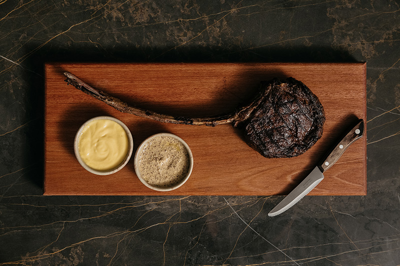 Coal Cellar + Grill Signature Dish The Tomahawk (Supplied)