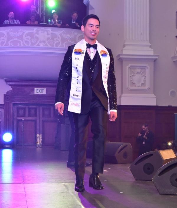 Mr Gay World Janjep Carlos Formal Wear - Photo courtesy Ryan Nicolas Lourens