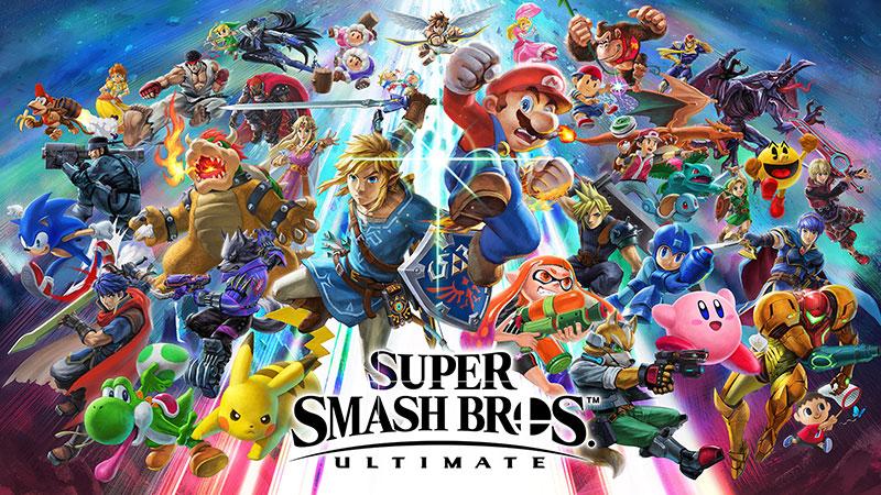 Gamers prefer Super Smash Bros