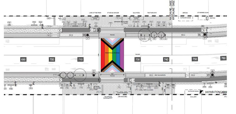 Auckland Rainbow Crossing