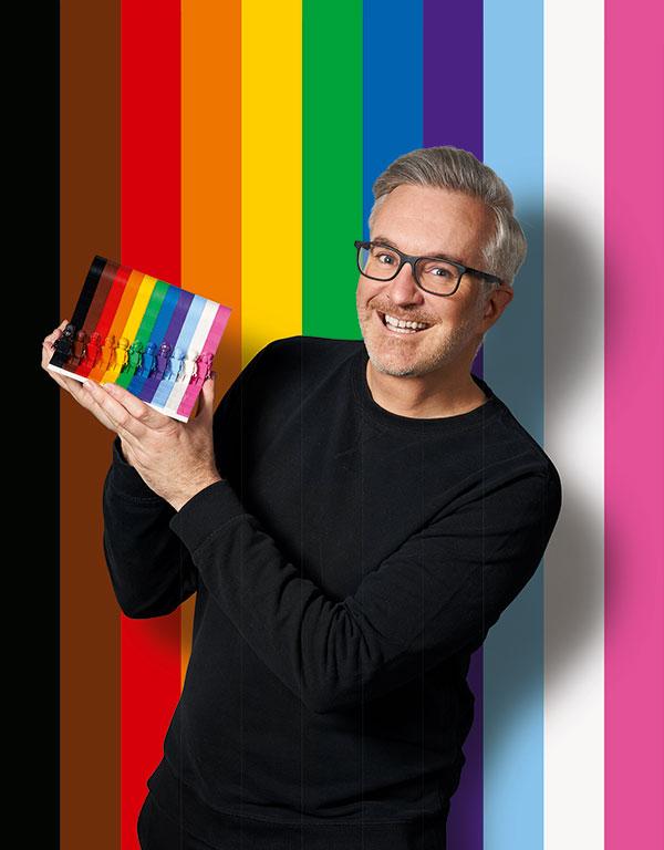 Lego Pride Set designer Matthew Ashton (Lego)