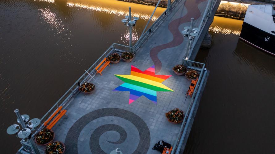 Rainbow Star (Photo: City of Turku / Eelis Lynne)